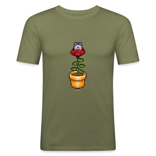 Rosentopf - Männer Slim Fit T-Shirt