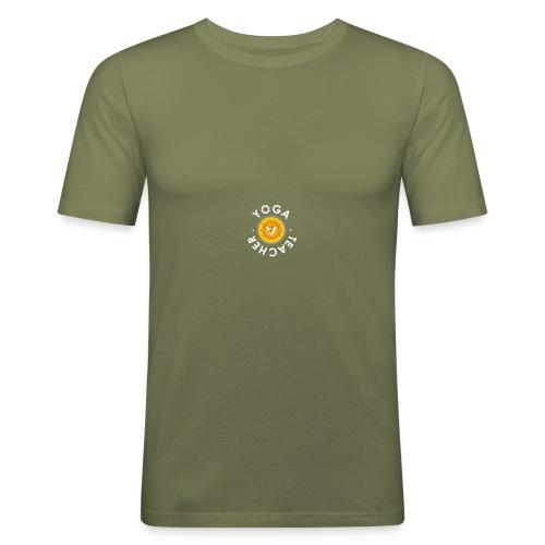 yoga teacher - T-shirt près du corps Homme