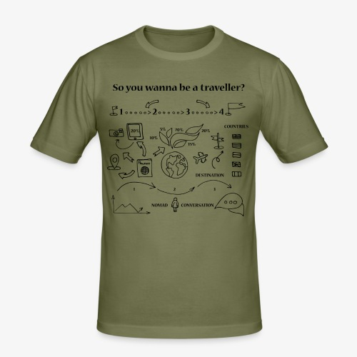 nomad - Men's Slim Fit T-Shirt