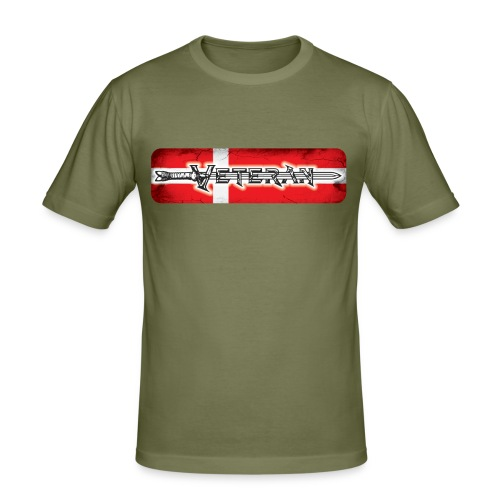 VeteranSword - Herre Slim Fit T-Shirt