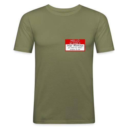 montoya - Männer Slim Fit T-Shirt