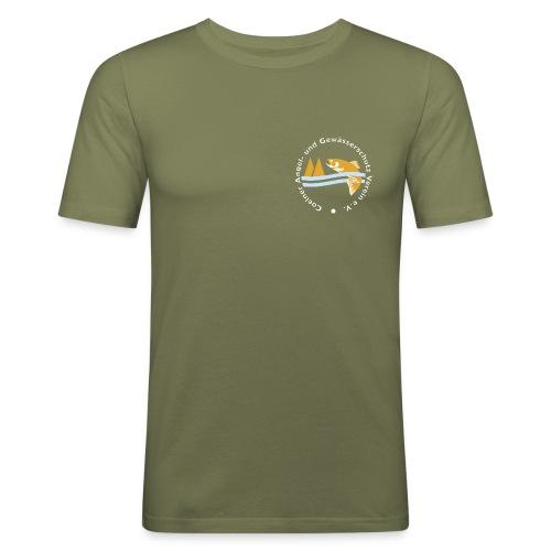 CAG Logo cmyk png - Männer Slim Fit T-Shirt