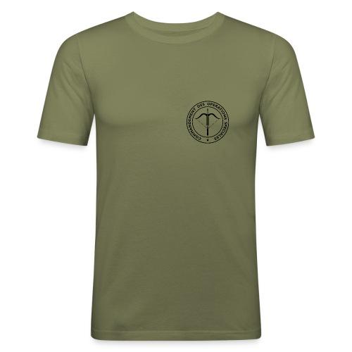 g6558 - T-shirt près du corps Homme