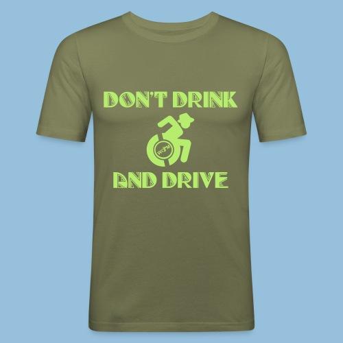 DrinkDrive3 - slim fit T-shirt
