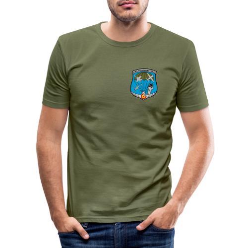 Escudo Fuerzas Aéreas. - Camiseta ajustada hombre