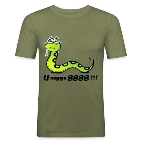U zegge SSSS !!! - slim fit T-shirt