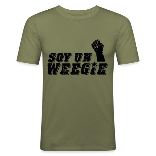 Soy Un Weegie - Men's Slim Fit T-Shirt