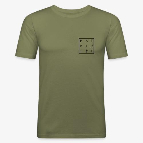 patriote - T-shirt près du corps Homme