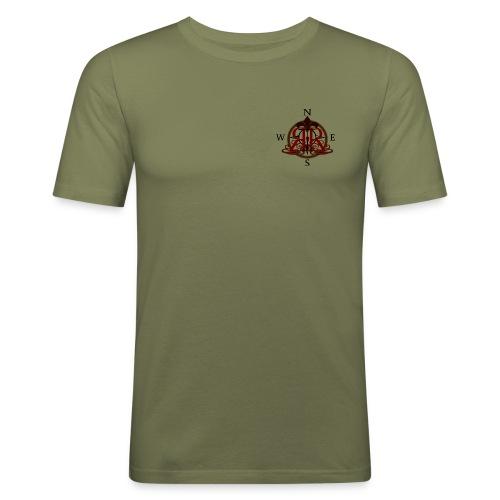 LogoRR - Männer Slim Fit T-Shirt