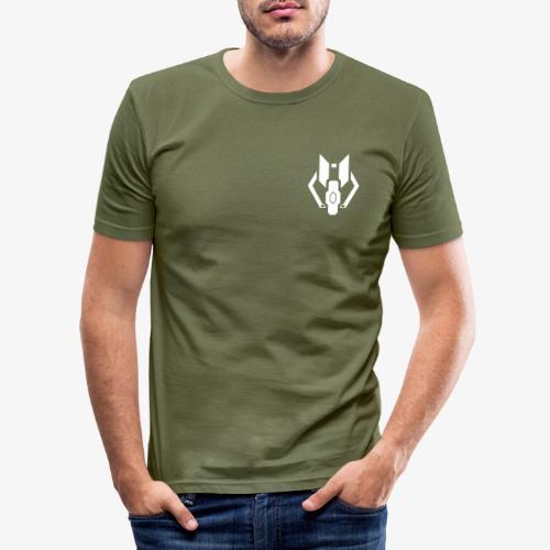 Logo YaRx plein Blanc 2k18 - T-shirt près du corps Homme