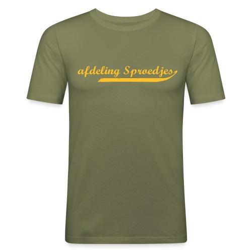 afdeling sproedjes2 - slim fit T-shirt