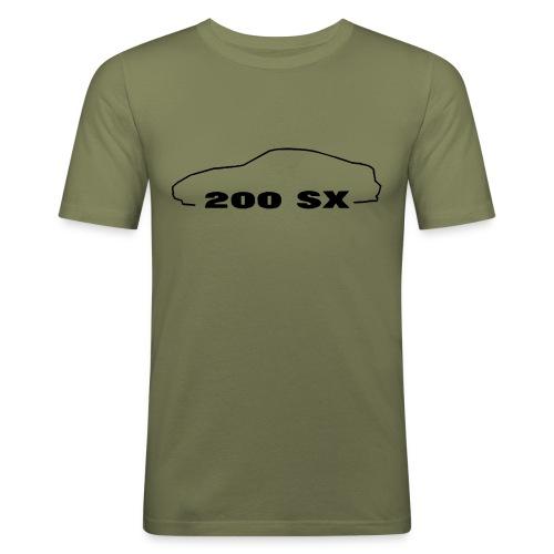 200sxlogo - Männer Slim Fit T-Shirt