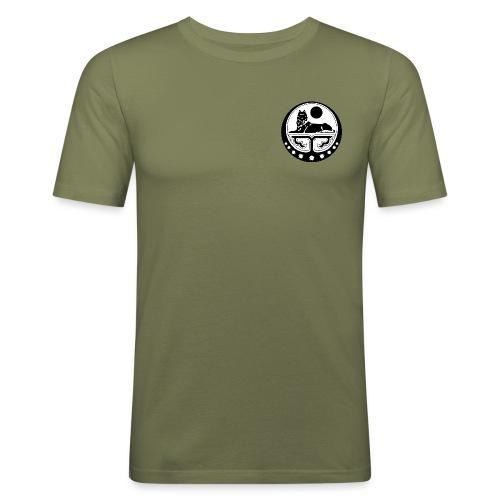ichkeria wolf - Männer Slim Fit T-Shirt