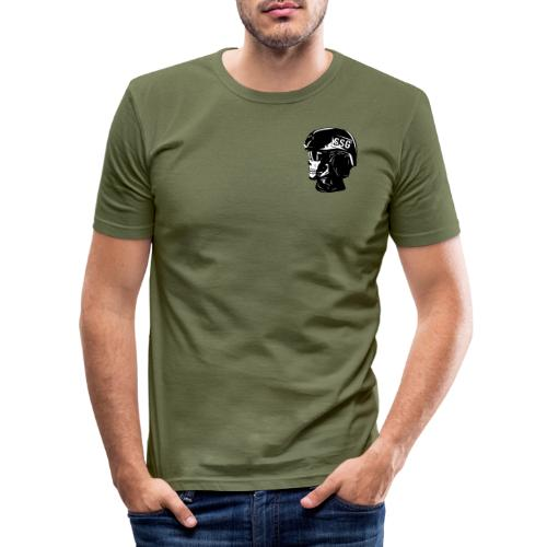 SSG SKULL 2COL - Slim Fit T-shirt herr