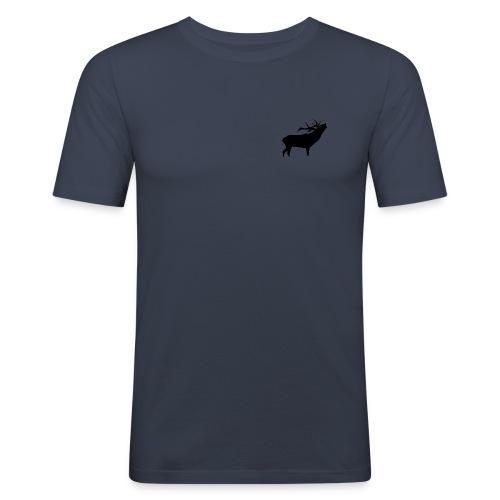 cerf - T-shirt près du corps Homme