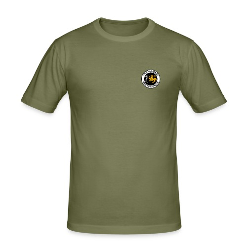 onkinawate logo ueberarbeitet - Männer Slim Fit T-Shirt