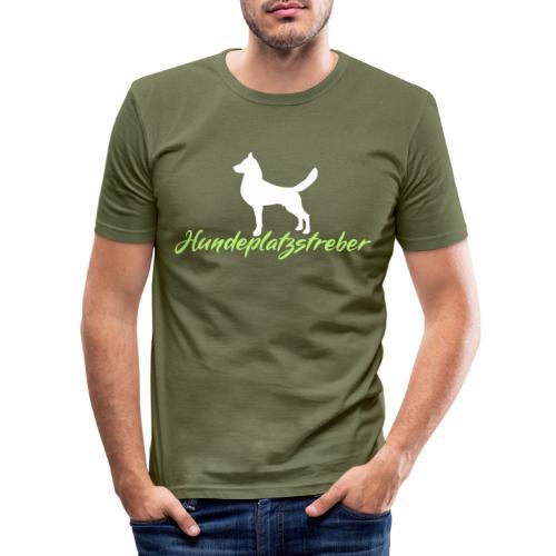 Hundeplatz-Streber / Hundeschule Design Geschenk - Männer Slim Fit T-Shirt