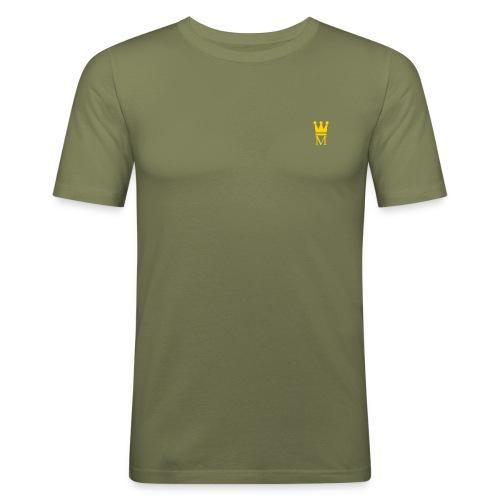 Mann Clothing-Motif - Men's Slim Fit T-Shirt