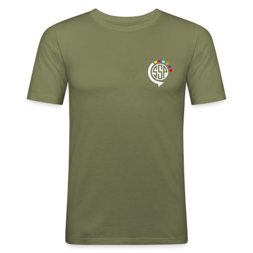 logossp1 - T-shirt près du corps Homme