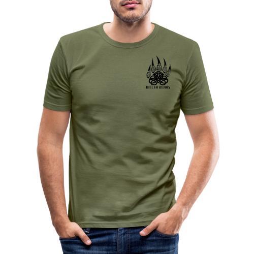 Welsh Bears - Men's Slim Fit T-Shirt