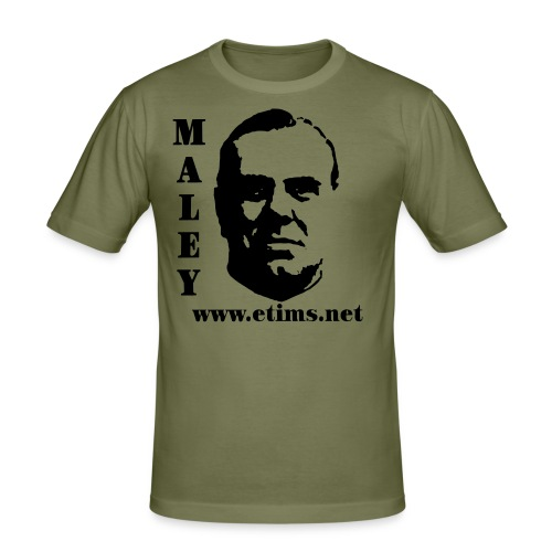 spreadshirt maley 1 - Men's Slim Fit T-Shirt