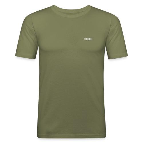 funaki - Slim Fit T-skjorte for menn