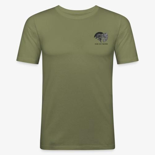Train Like A Warrior - Men's Slim Fit T-Shirt