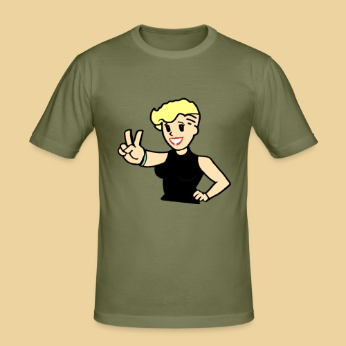 Ms Undercut - Männer Slim Fit T-Shirt