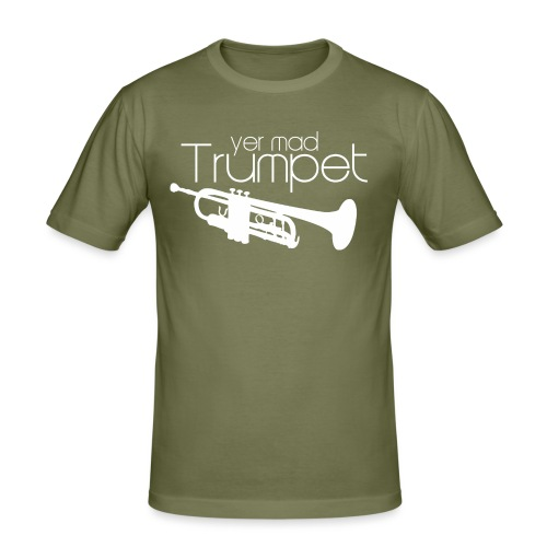 Yer Mad Trumpet - Men's Slim Fit T-Shirt