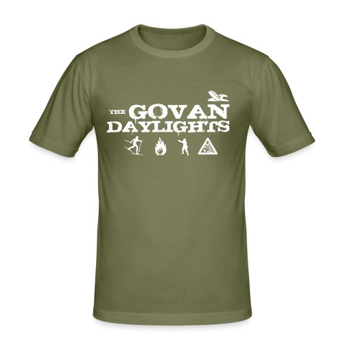 The Govan Daylights - Men's Slim Fit T-Shirt