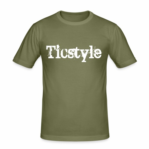 Ticstyle Org - Slim Fit T-shirt herr