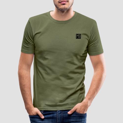 Logo MB Graphic Designer Black - Maglietta aderente da uomo