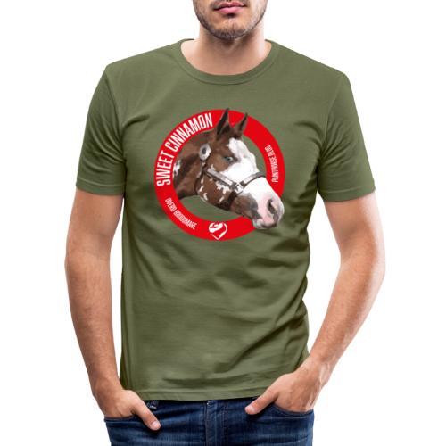 SWEET CINNAMON - Maglietta aderente da uomo