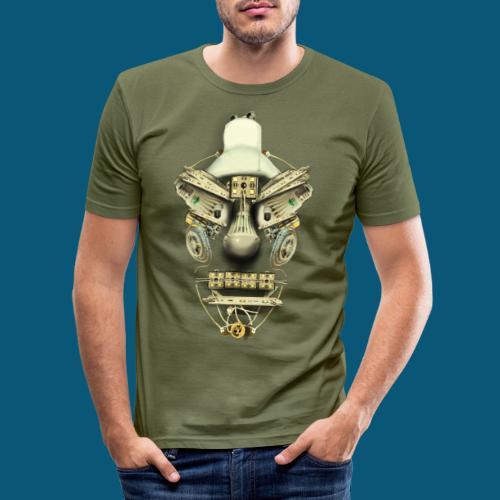 Led Jägert png - Männer Slim Fit T-Shirt