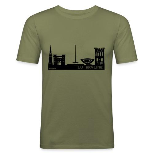 Lu skyline de Terni - Maglietta aderente da uomo