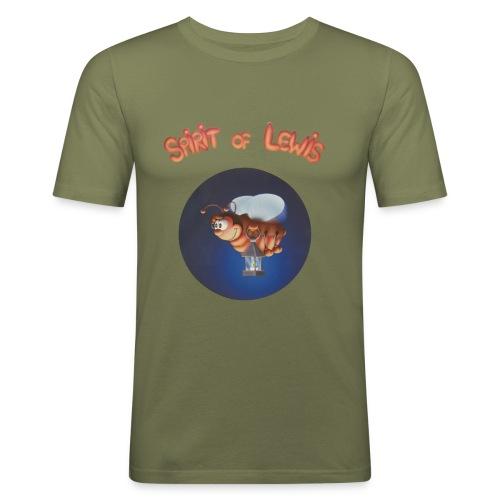 Spirit of Lewis - T-shirt près du corps Homme