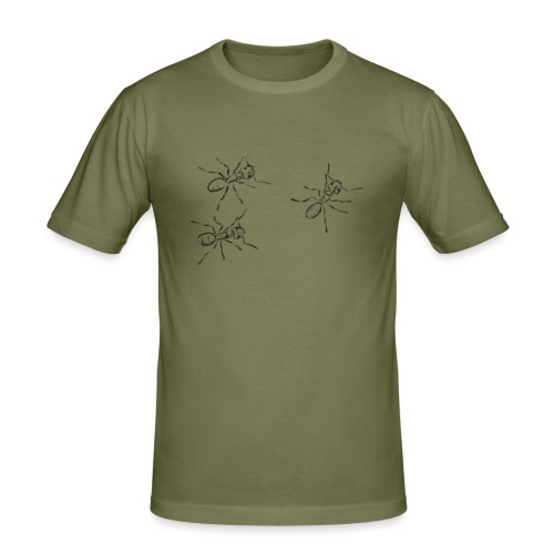Ants - Men's Slim Fit T-Shirt