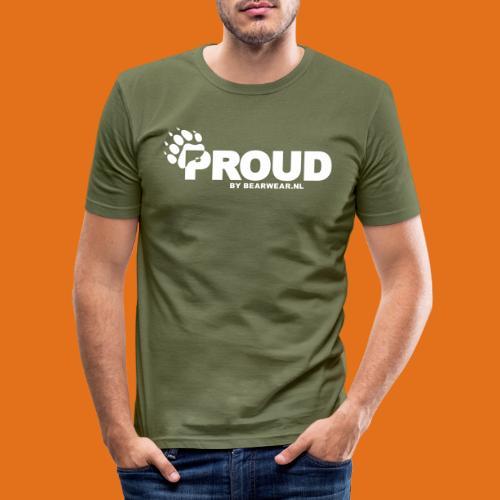 proud - Men's Slim Fit T-Shirt