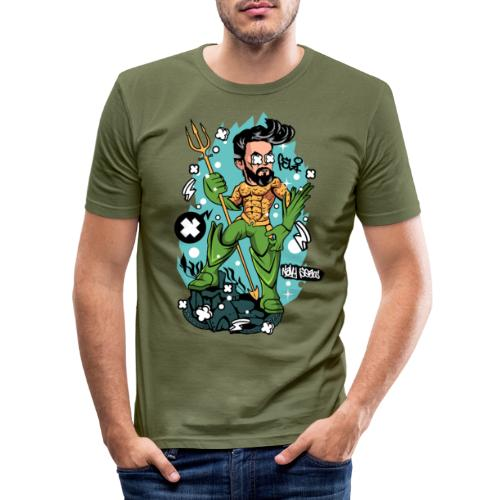 Felicino il Capitano - Maglietta aderente da uomo