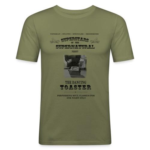dancing toaster4 - Men's Slim Fit T-Shirt