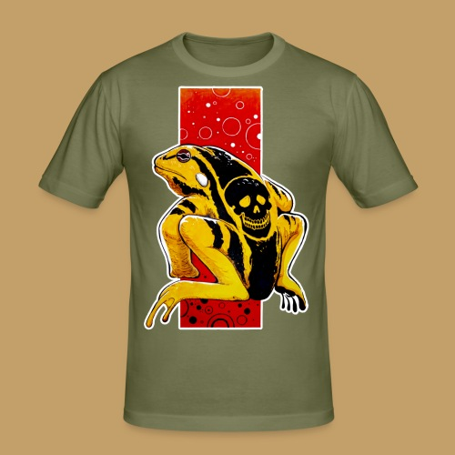 Death Frog - Obcisła koszulka męska
