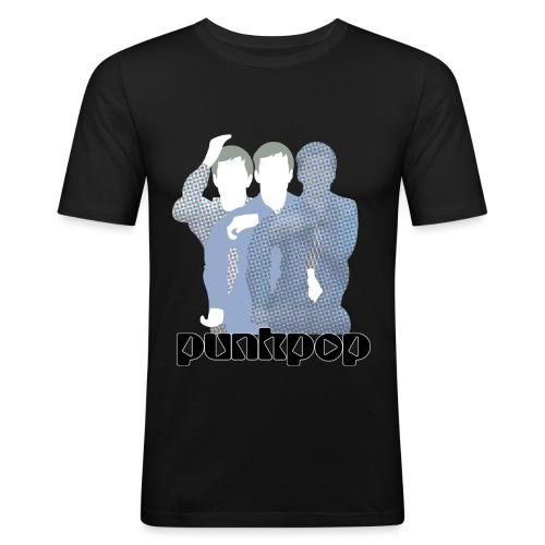 JD Post Punk PunkPop - Maglietta aderente da uomo