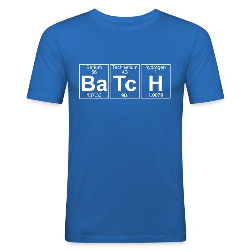 Ba-Tc-H (batch) - Full - Men's Slim Fit T-Shirt