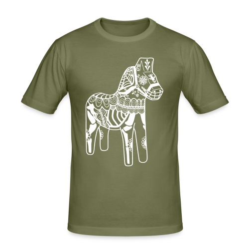 caballo muerto white - Slim Fit T-shirt herr