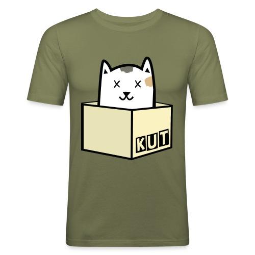 Kitten Los Default Colours - Mannen slim fit T-shirt