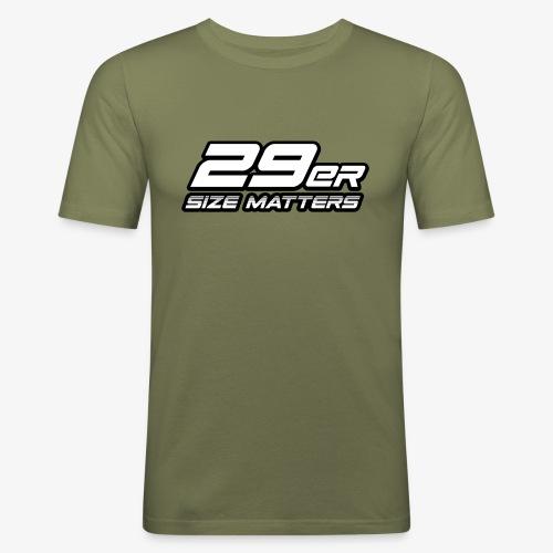 29er size matters - Men's Slim Fit T-Shirt