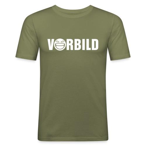 Olive vl056b_vorbild_1c T-Shirts - Männer Slim Fit T-Shirt