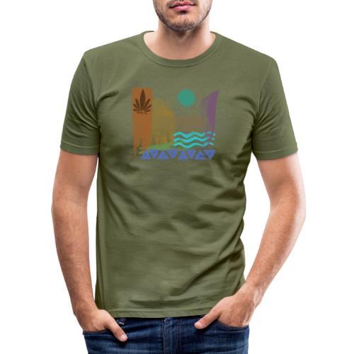 greek 02 - Männer Slim Fit T-Shirt