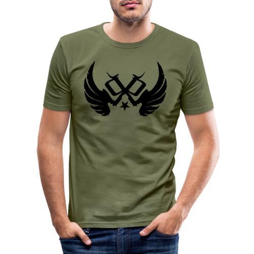 PP Logo Winged - Men's Slim Fit T-Shirt