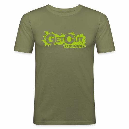 GO No matter what Man - Männer Slim Fit T-Shirt